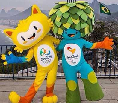 Mascots in Rio 2016, olympic mascots