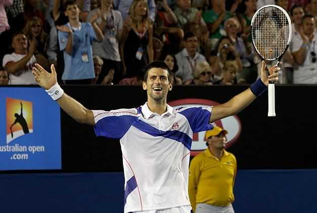 Novak Djokovic, handsome tennis players