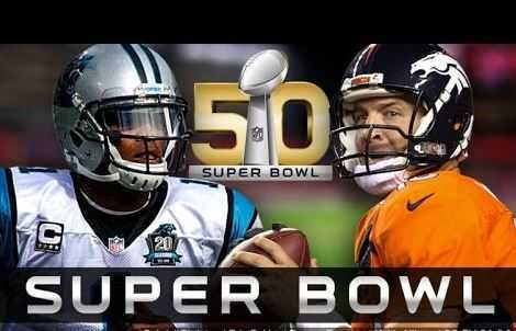 The Super Bowl 50, denver broncos