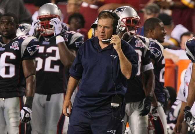 Bill Belichick, best nfl coach's salary
