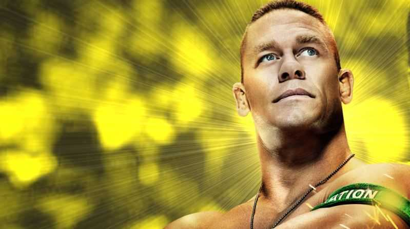John Cena yellow, Cena wall, cena free download