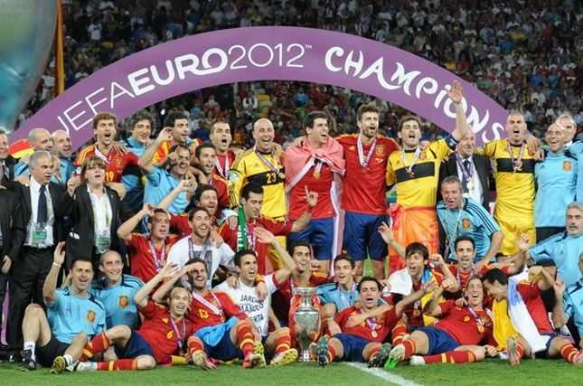 Spain national team, strongest teams in Euro