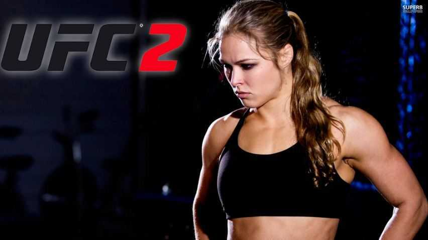Ronda Rousey, best female UFC fighter