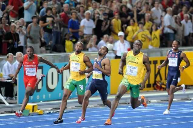 100 m final Berlin, Usain Bolt