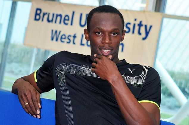 Bolt at Brunel University, net worth